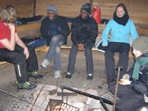 Nuorten retki Kalvolaan kodalle, maaliskuu 2011