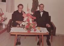 Kalevi Nieminen vaimonsa kanssa