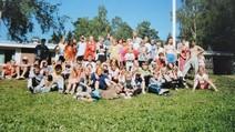 Leiriporukkaa Kariniemessä 98-99